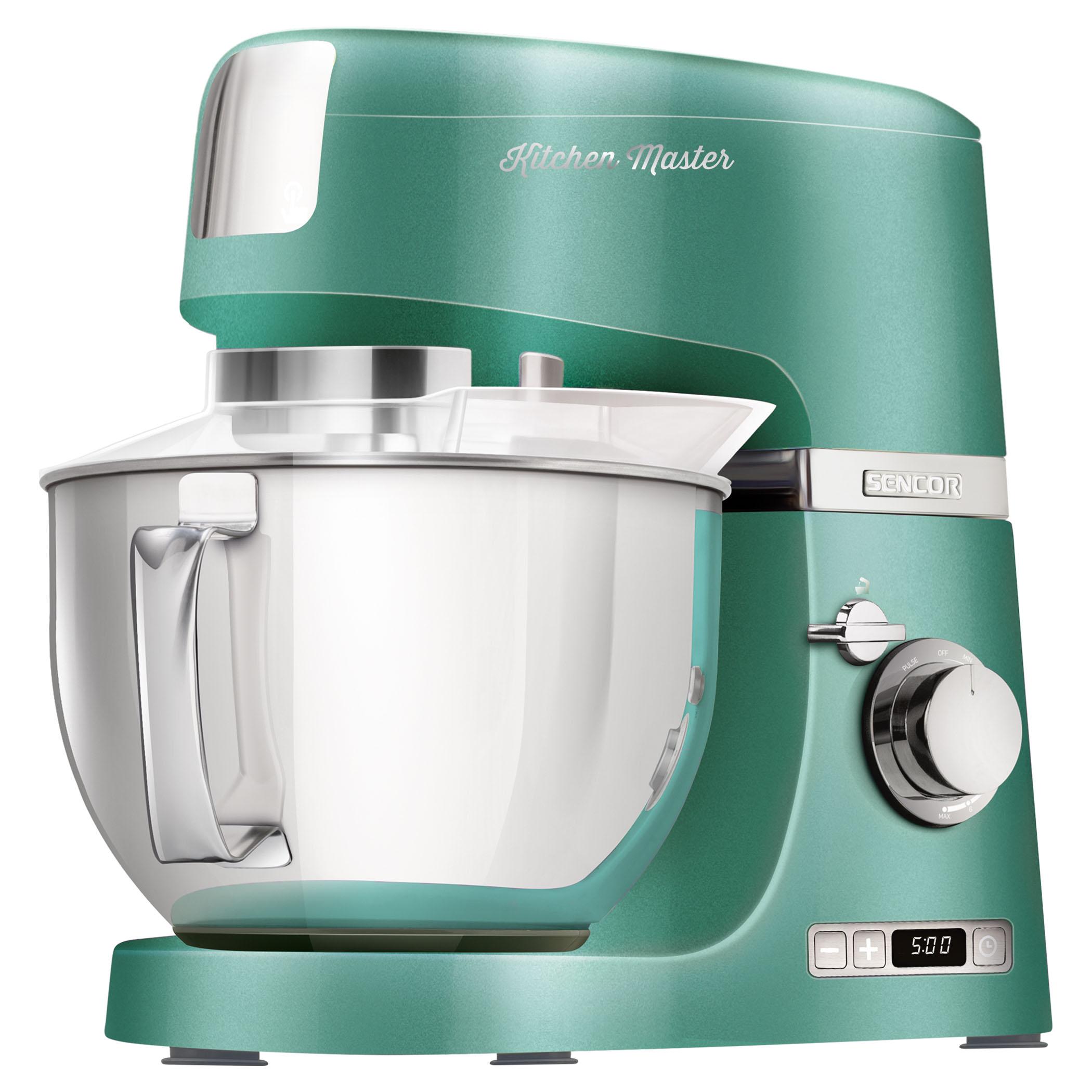 Kuchyňský robot SENCOR STM 7871GR zelená