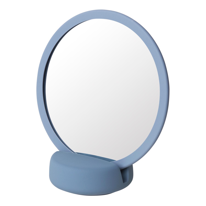 Blomus Kosmetické zrcadlo stolní SONO kouřově modré