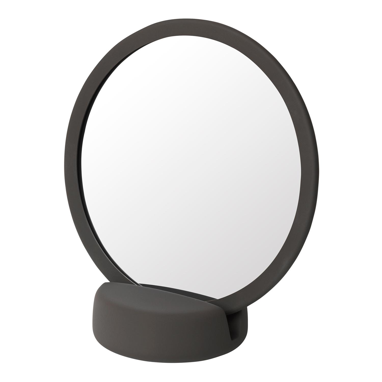 Blomus Kosmetické zrcadlo stolní SONO tmavě hnědé