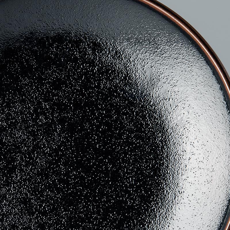 Mělký talíř Tenmokku 25 cm