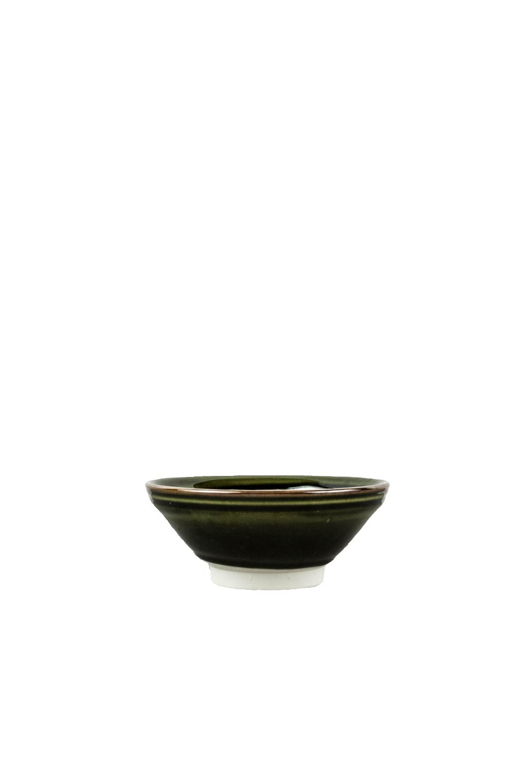 MIJ Střední mísa 17 x 6 cm tmavě zelená