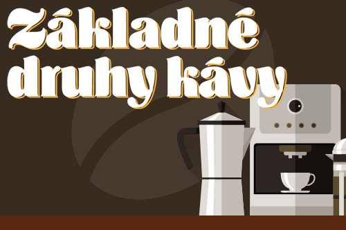 Poznáte základné druhy kávy?