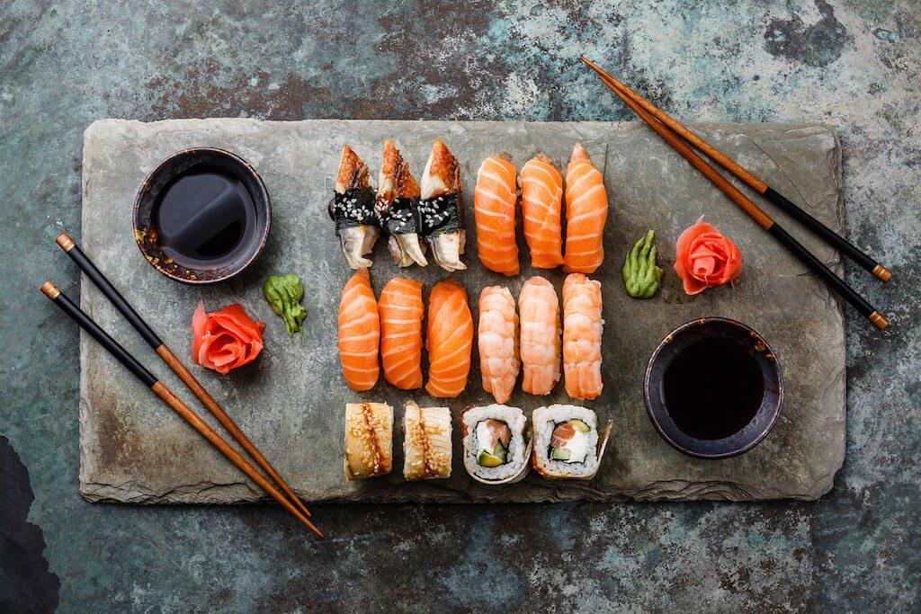 Druhy sushi - ochutnajte ich všetky