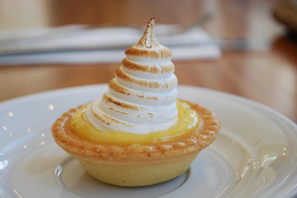 Tartaletky s citronovým krémem - Tartelette au lemon curd