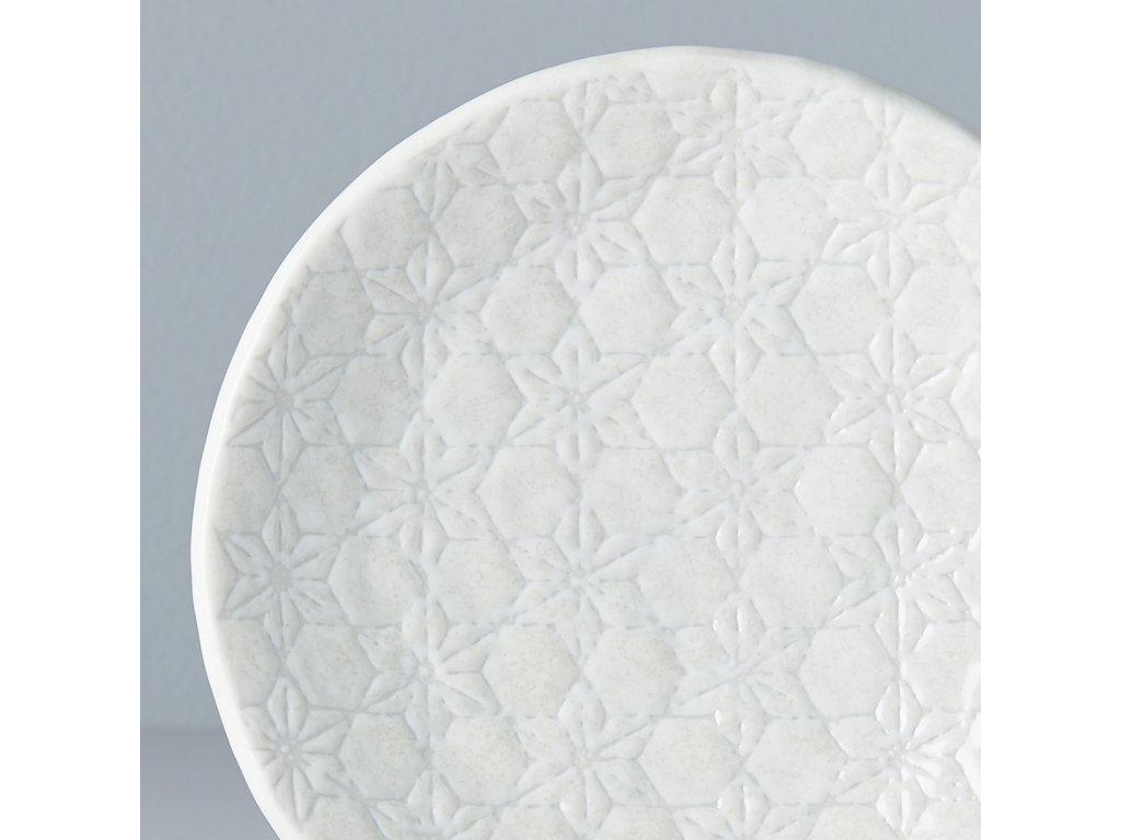 Plytký tanier White Star 13 cm MIJ