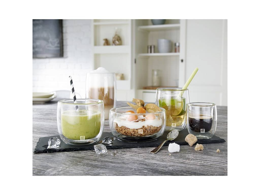 Set sklenených šálok na kávu Sorrento Zwilling 200 ml 2 ks