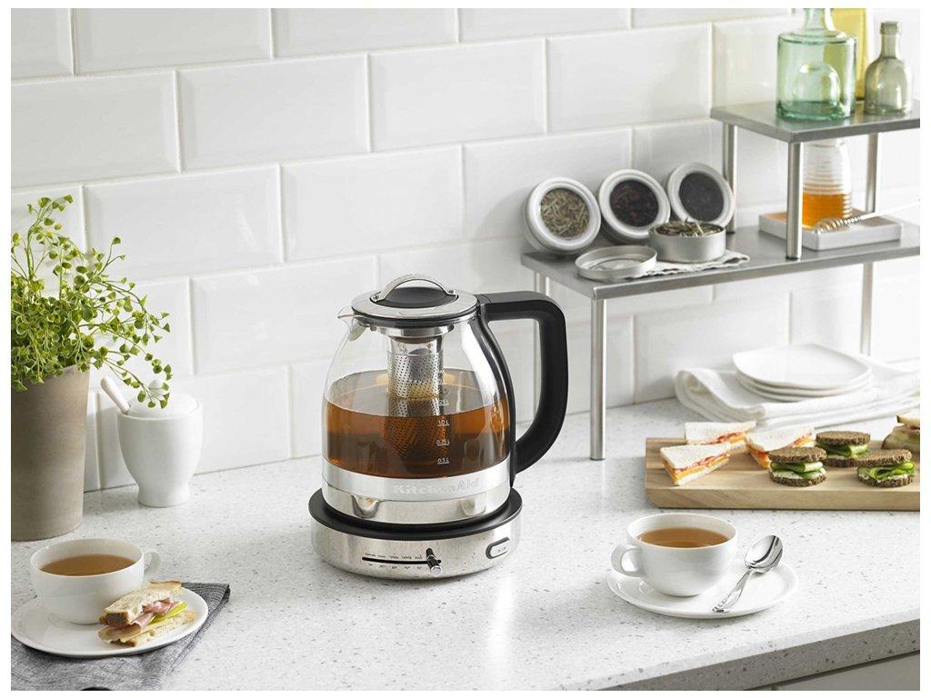 Sklenená rychlovarná kanvica na čaj KitchenAid 1 aadbd140e1b