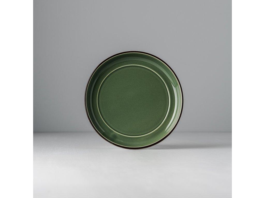 Podšálka COLOURBLOCK - zelená 15 cm MIJ