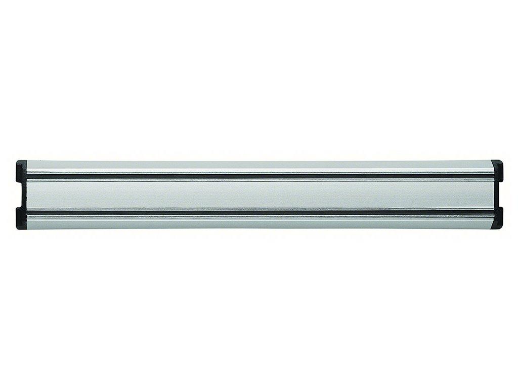 Magnetická lišta na nože strieborná 45 cm