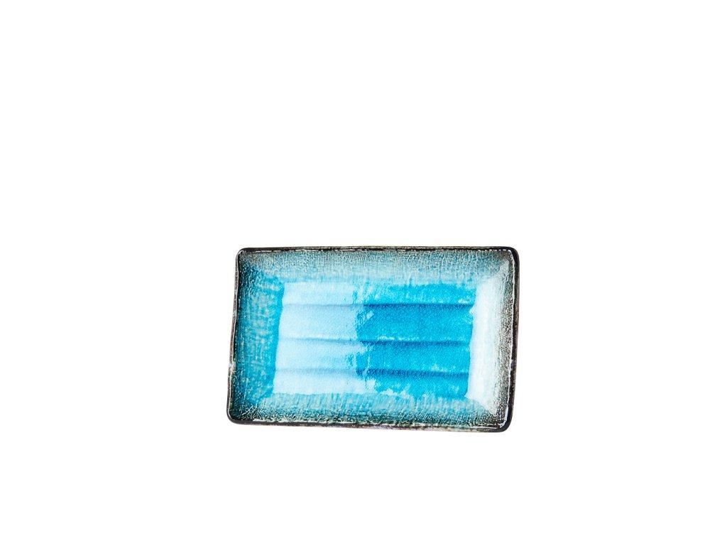 Tanier na sushi Sky Blue 21,5 x 13 cm