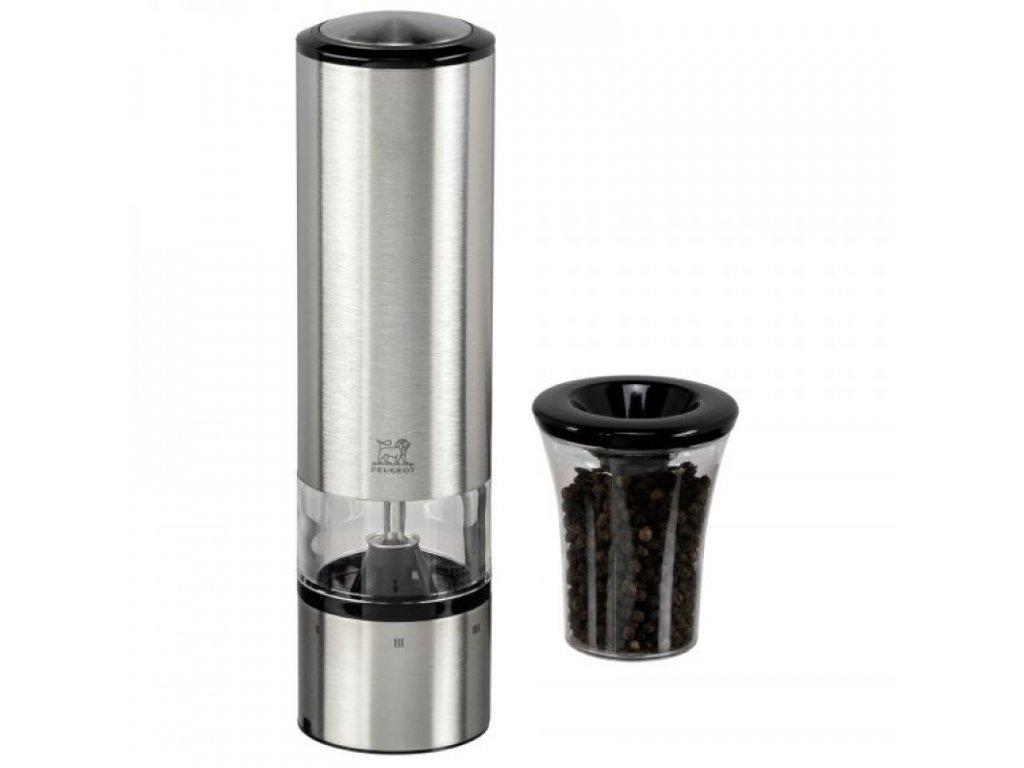 Elektrický mlynček na korenie Elis Sense Peugeot nerezový 20 cm
