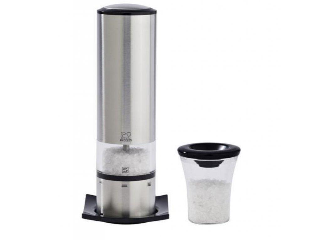 Elektrický mlynček na soľ Elis Sense Peugeot nerezový 20 cm