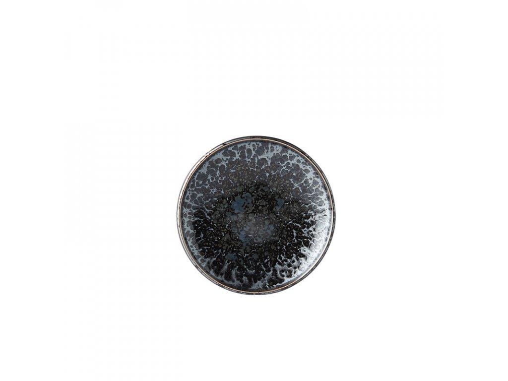 Plytký predkrmový tanier Black Pearl 17 cm MIJ