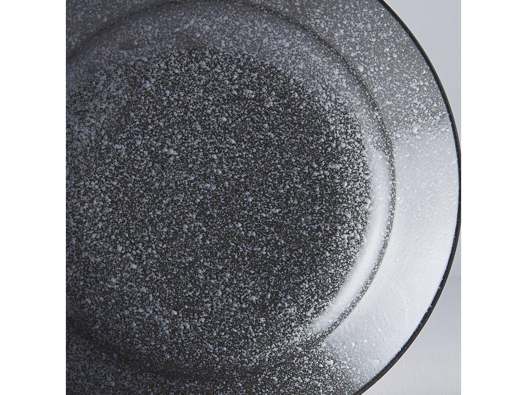 Okrúhly plytký tanier Matt 17 cm