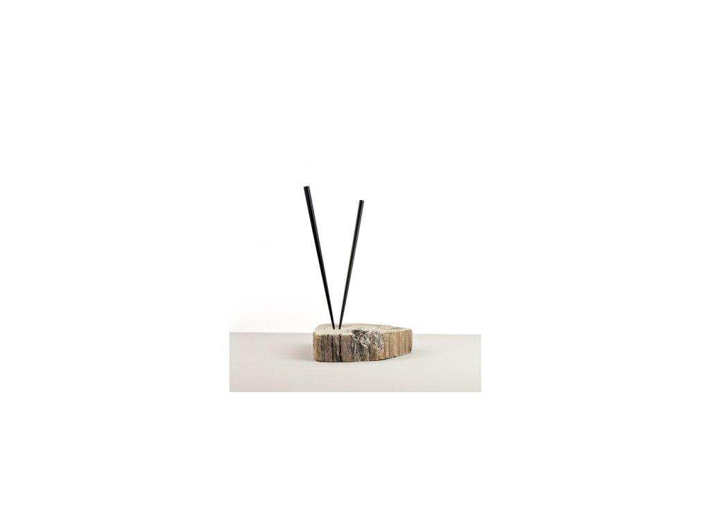 Lakované jedálne paličky Chopsticks čierne MIJ