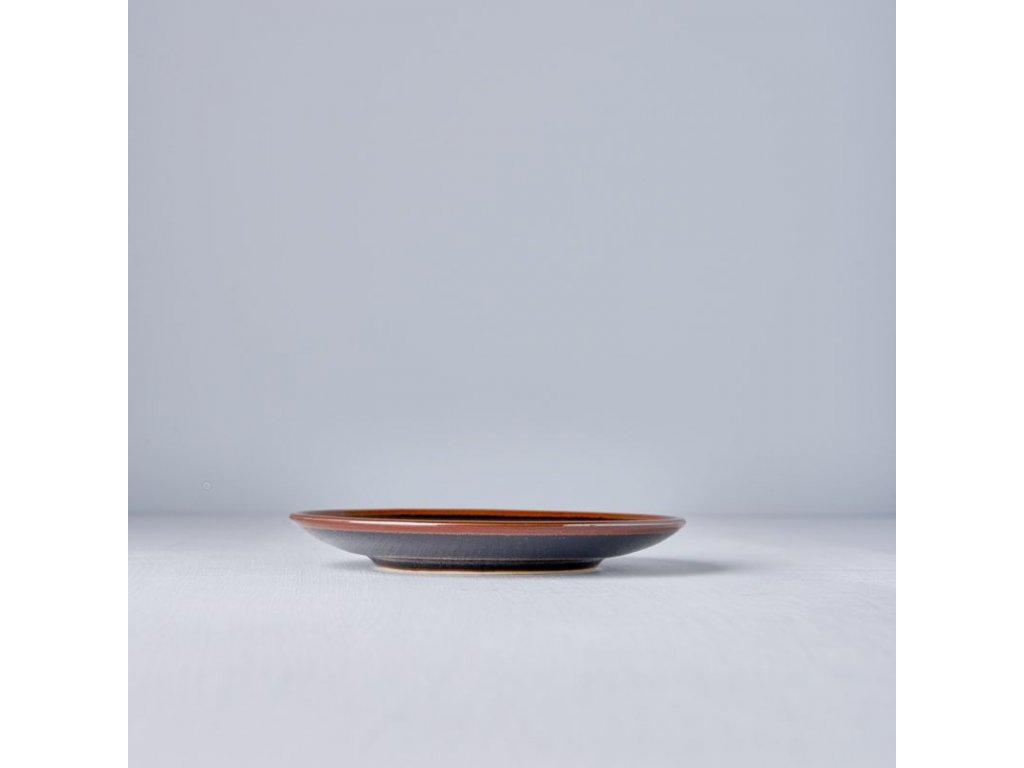 Predkrmový plytký tanier Tenmokku 17 cm MIJ