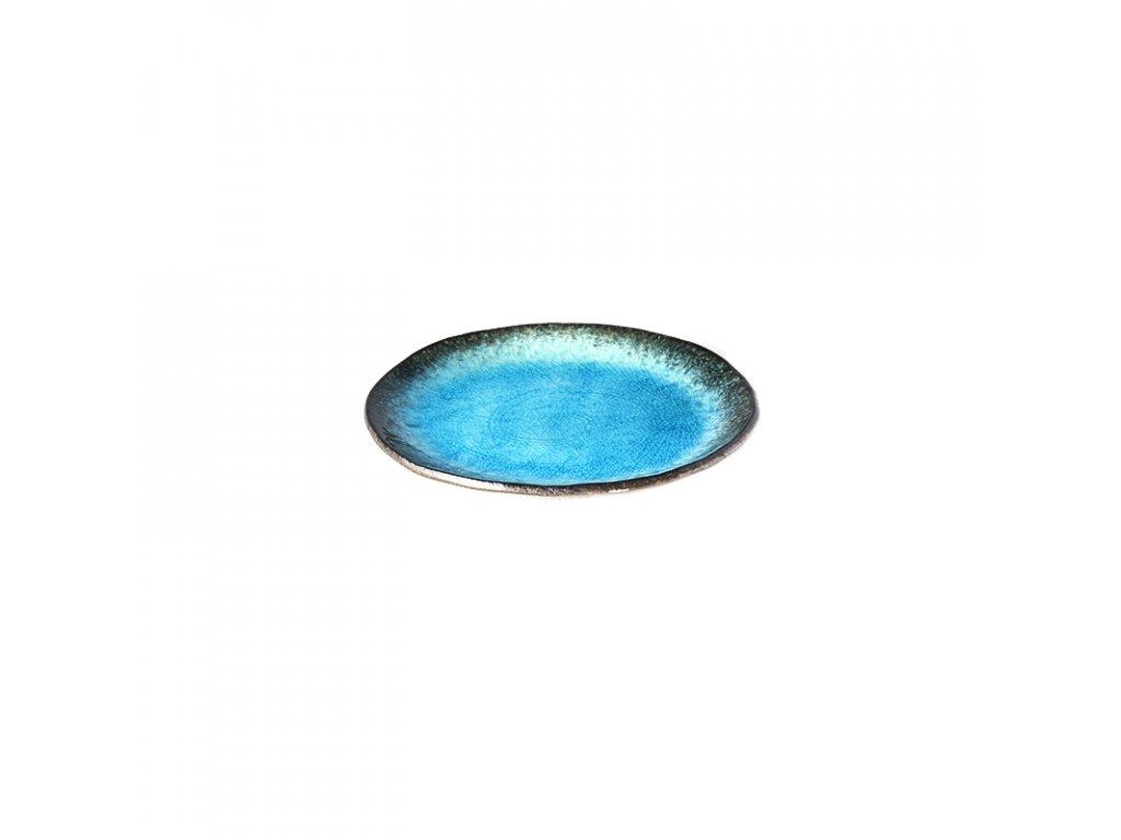 Oválny tanier Sky Blue 18 cm MIJ