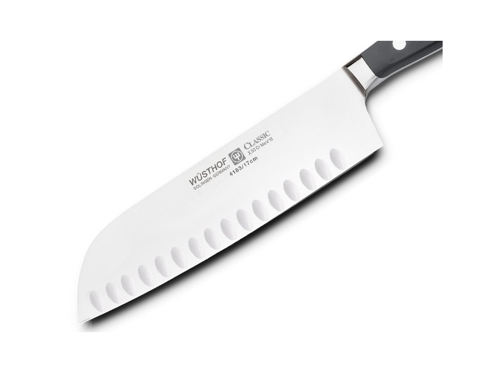 Japonský nôž Santoku Classic Wüsthof 17 cm a