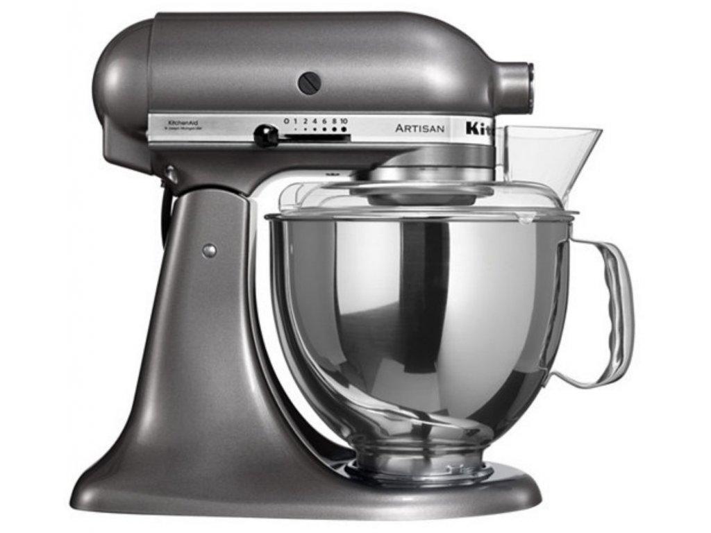 Kuchynský robot KitchenAid Artisan 5KSM175 strieborno sivá