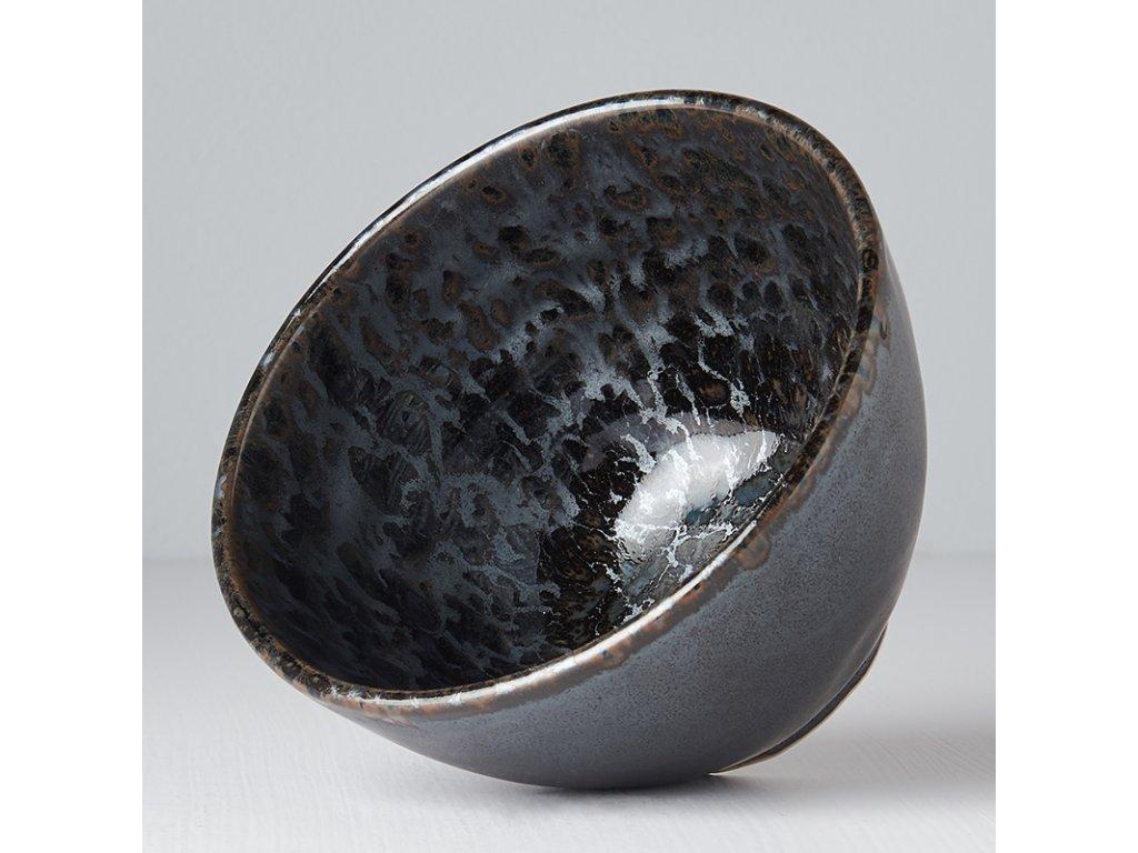 Vysoká miska Black Pearl 13 cm 600 ml MIJ