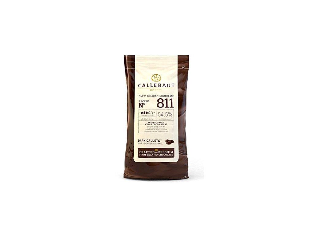 Horká čokoláda Callebaut 54,5 % 1 kg