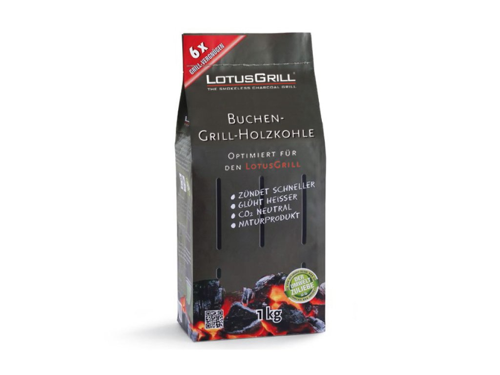 Drevené uhlie LotusGrill 1 kg