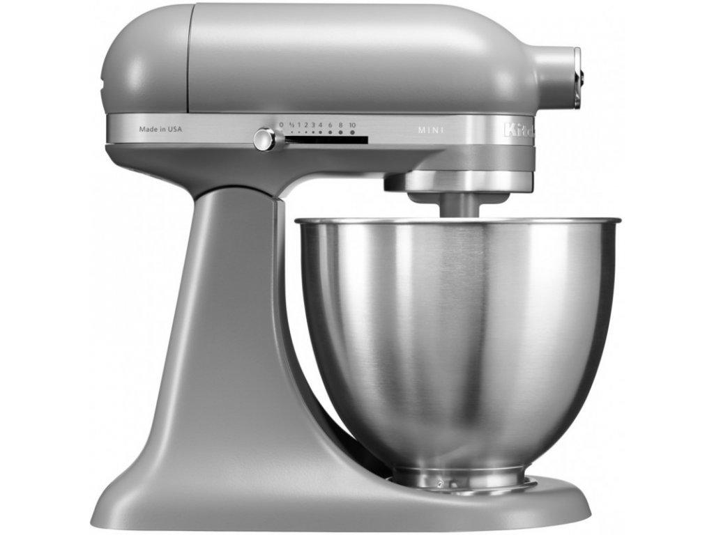 Kuchynský robot KitchenAid Artisan MINI 5KSM3311 matná sivá