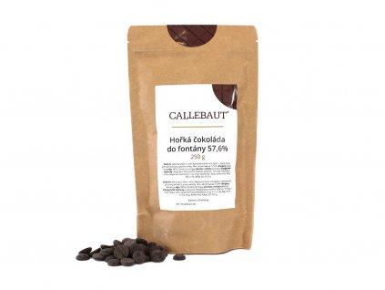 Horká čokoláda do fontány Callebaut 57,6% 250 g