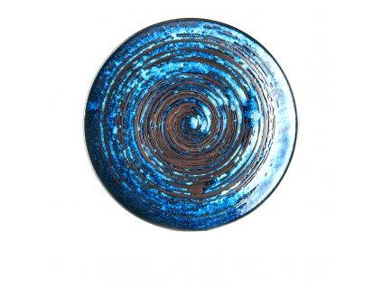 Plytký tanier Copper Swirl 29 cm