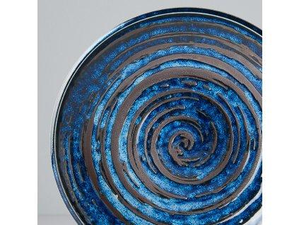 Plytký tanier Copper Swirl 20 cm