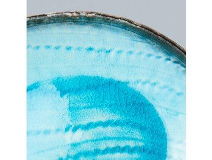 Oválny tanier Sky Blue 24 cm