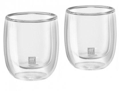 Set sklenených šálok na espresso Sorrento Zwilling 80 ml 2 ks