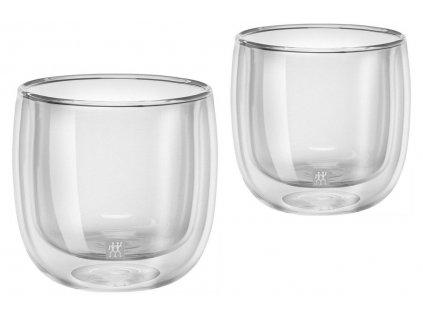 Set sklenených šálok na čaj Sorrento Zwilling 240 ml 2 ks