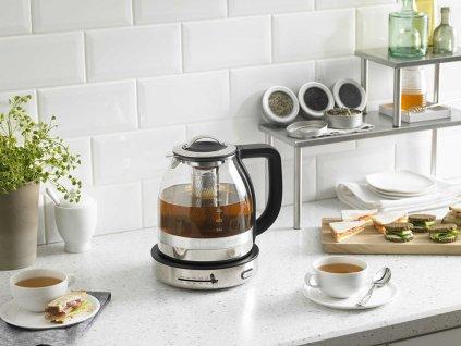 Skleněná rychlovarná konvice na čaj KitchenAid 1,5 l