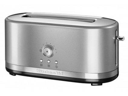 Topinkovač s manuálním ovládáním KitchenAid 5KMT4116 stříbrná