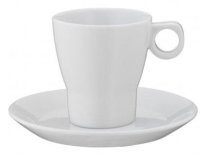 Šálek s podšálkem na kávu s mlékem Barista WMF 150 ml