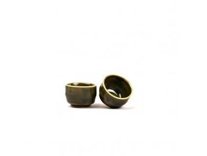 Miska na saké Sake Cup zelená 80 ml