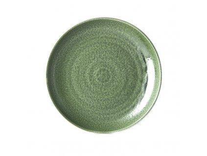 Plytký tanier Earthy Green 25 cm