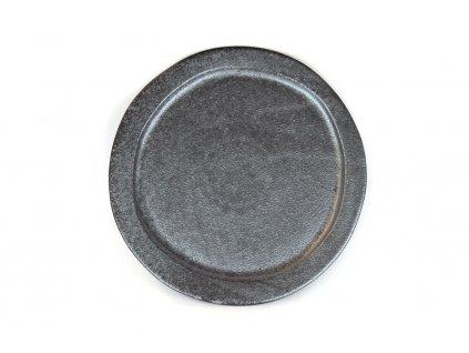 Guľatý tanier Craft Black 24,5 cm MIJ