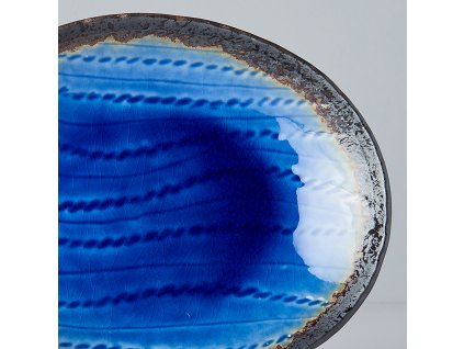 Oválny tanier Cobalt Blue 24 x 20 cm