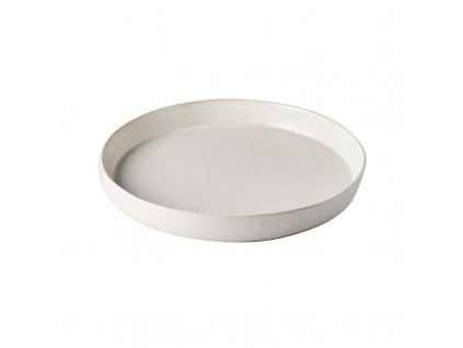 Veľký tanier s vysokým okrajom Craft White 25 cm