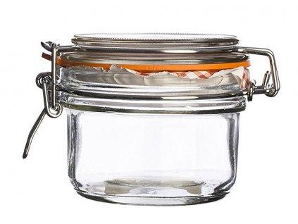 Dóza na potraviny s klipem Kilner 125 ml a