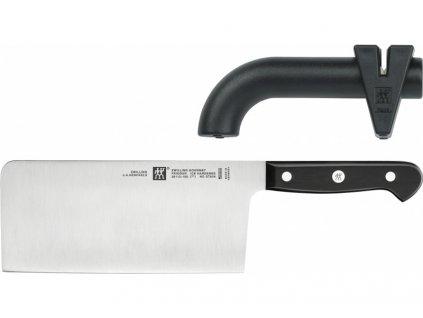 Sekáčik Gourmet 17,8 cm a brúska na nože Twin Sharp Zwilling