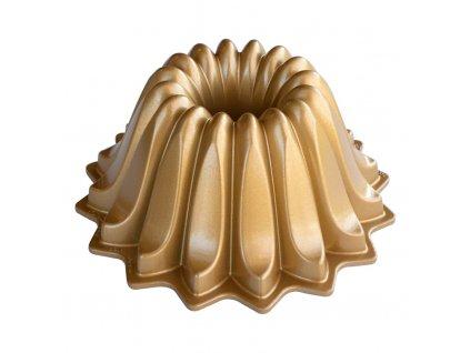 Forma na bábovku Lotus Nordic Ware zlatá 1,2 l