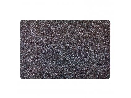 Prostírání KJ Collection žulově černá 43,5 x 28,5 cm