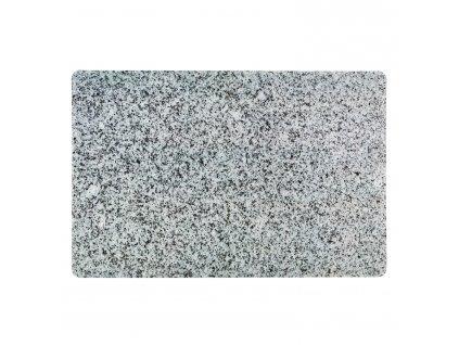 Prostírání KJ Collection žulově šedá 43,5 x 28,5 cm