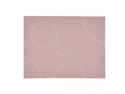 Prostírání s kruhy Zone růžová 40 x 30 cm