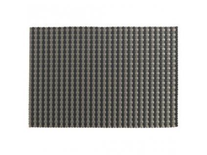 Prostírání Zone černá stříbrná 40 x 30 cm