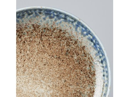 Okrúhly tanier s vysokým okrajom Earth & Sky 22 cm