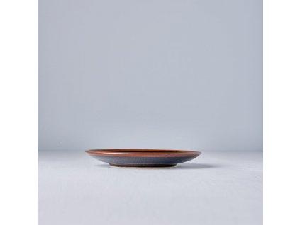 Predkrmový plytký tanier Tenmokku 17 cm